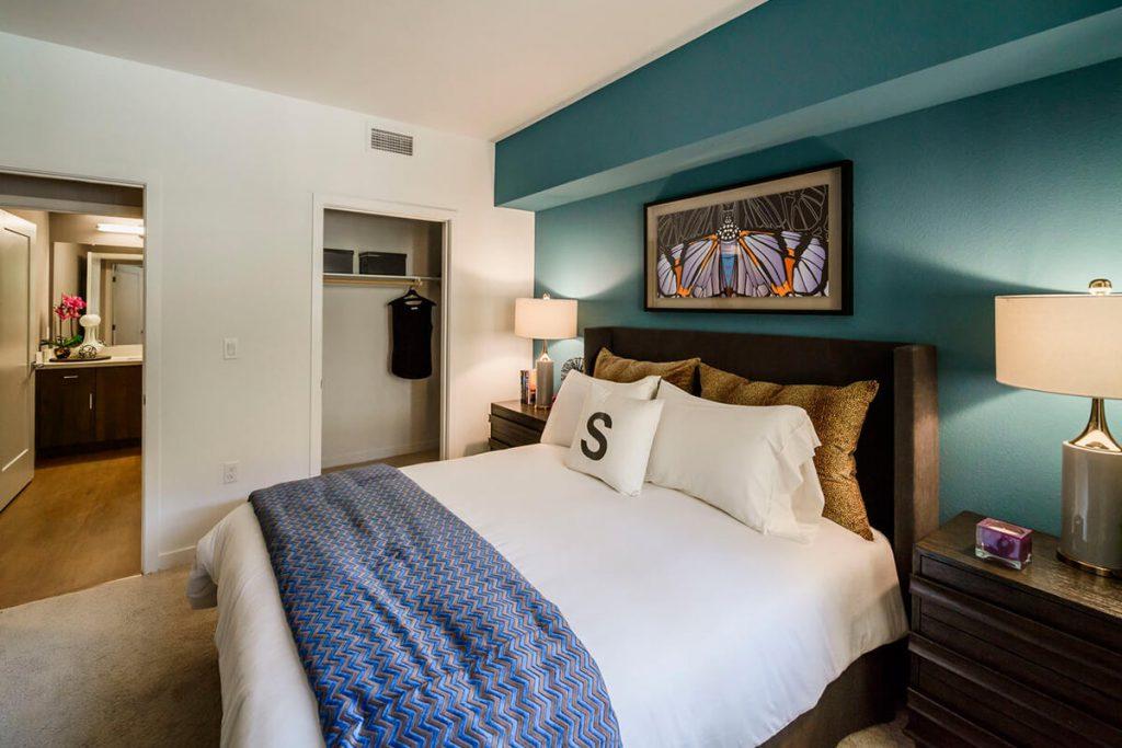 6tenEAST - Plan D1: Bedroom