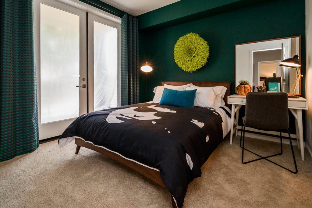 6tenEAST - Plan J2: Bedroom 2